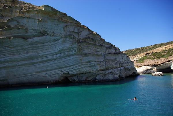 Kleftiko - Milos mare azzurro