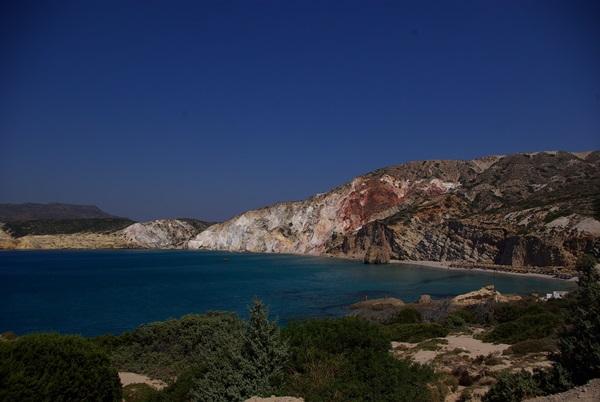 Firiplaka spiaggia panorama