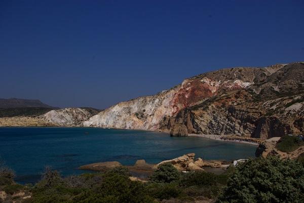 Firiplaka Milos spiaggia per tutti