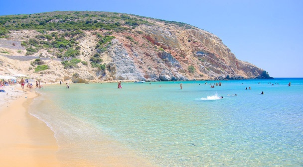 Milos spiagge - Provatas