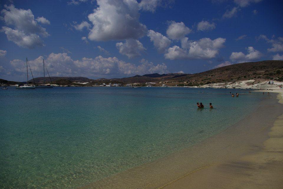 Spiaggia di Prassa Kimolos