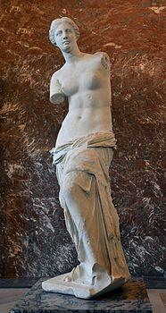 Venere di Milo - Afrodite di Milo - Louvre